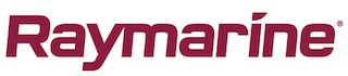 Raymarine logo denoting company details for our fish finder buyer's guide