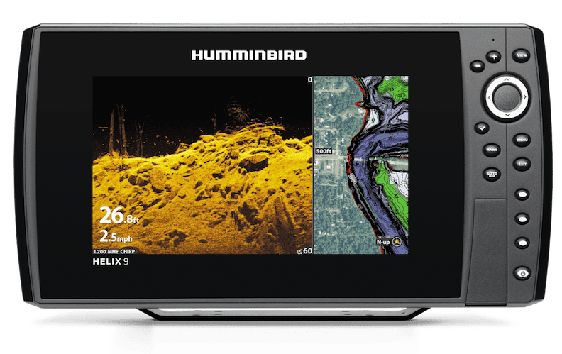 Humminbird HELIX 9 fish finder