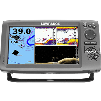 lowrance hook-9 fish finder