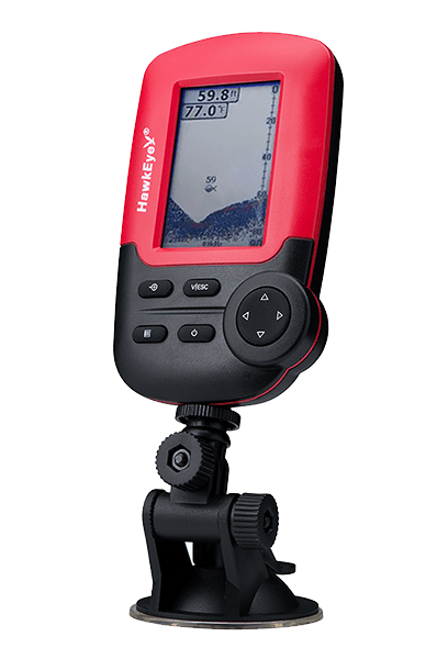 Hawkeye FishTrax portable fish finder