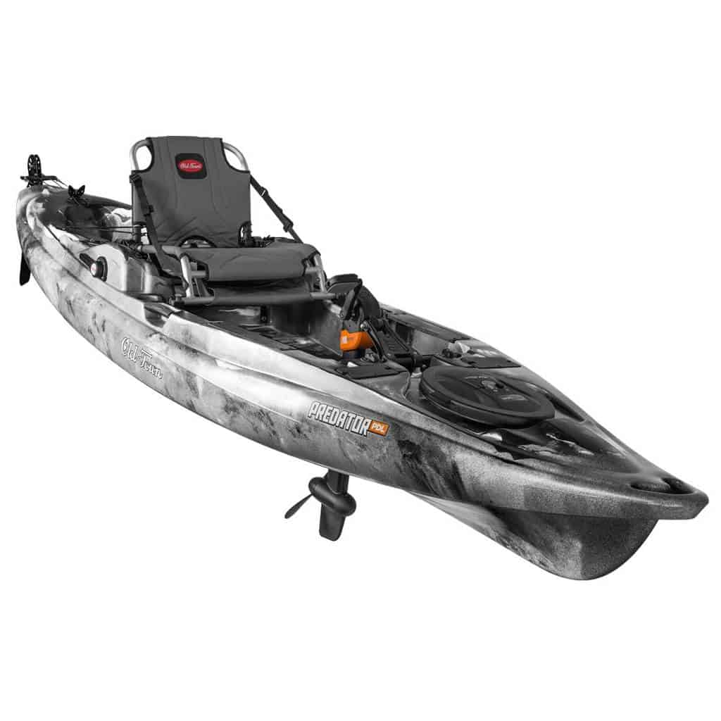The Old Town Predator PDL pedal kayak