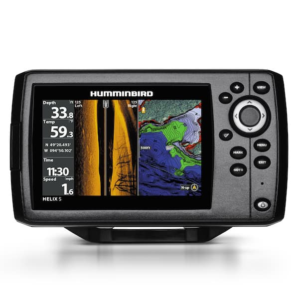 Humminbird Helix 5 CHIRP SI GPS G2N fish finder
