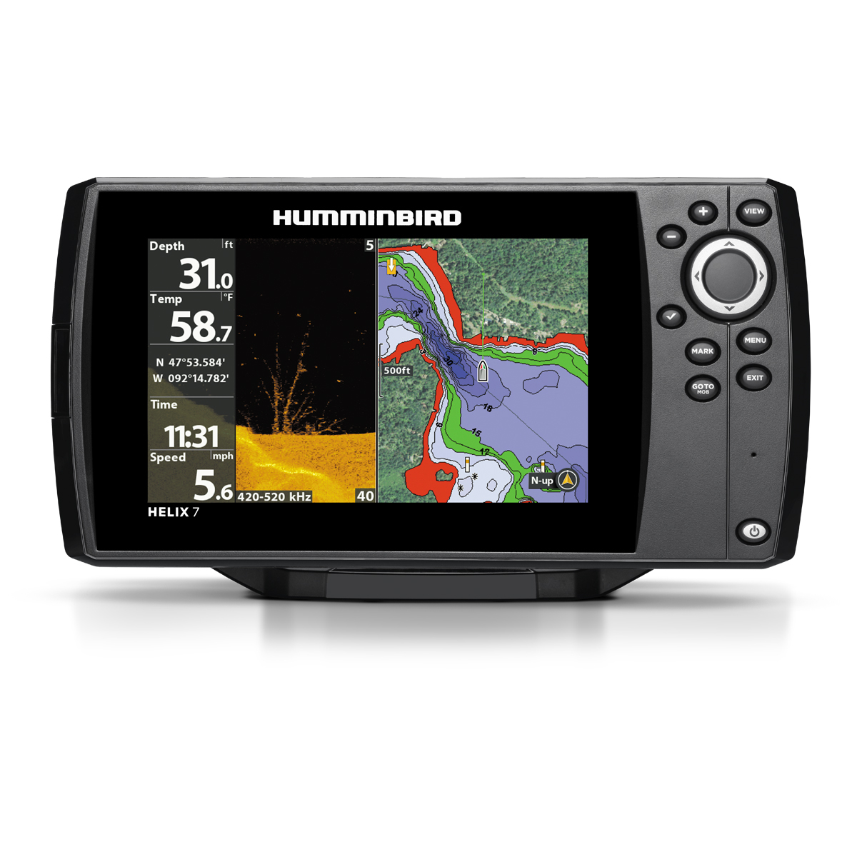 Humminbord Helix 7 CHIRP DI GPS fish finder