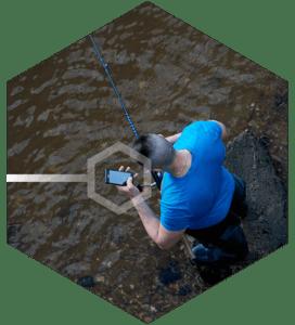 castable fish finder