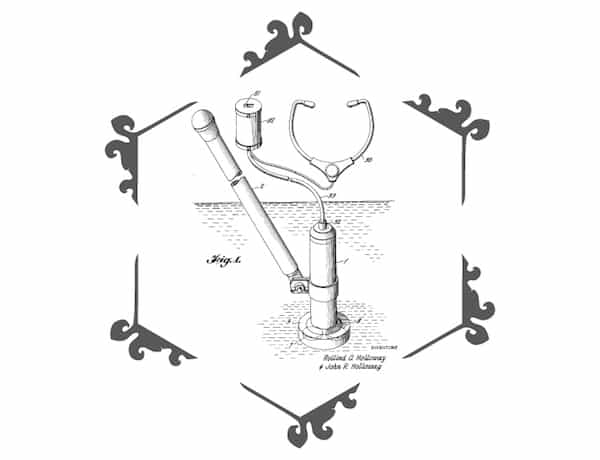 The Holloways' Hand-Held Fish Finder Patent